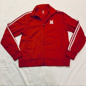 Adidas Nebraska Cornhuskers ZIP Up Jacket